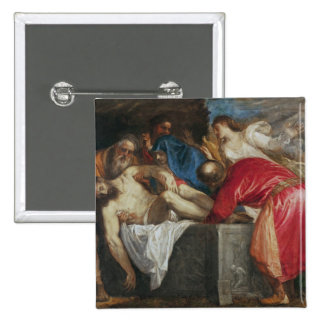 The Entombment of Christ, 1559 Pinback Button