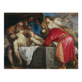 The Entombment of Christ, 1559 Postcard