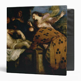 The Entombment of Christ 3 Ring Binder