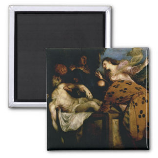 The Entombment of Christ Refrigerator Magnet