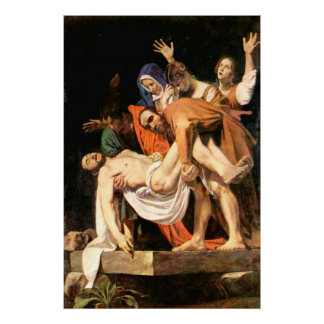 The Entombment of Christ Poster