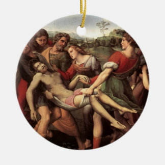 The Entombment Christmas Tree Ornaments