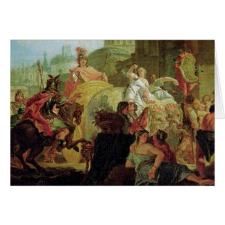 The Entrance of Alexander the Great Card