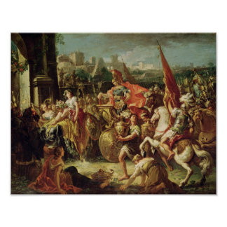 The Entrance of Alexander the Great Poster
