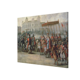 The Entrance of Charles V Canvas Print