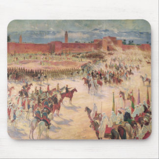 The Entrance of General Lyautey & General Mangin Mouse Pad