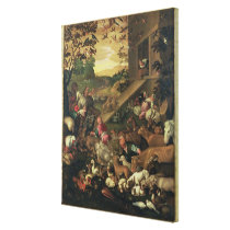 The Entrance of the Animals into the Ark Canvas Print