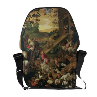 The Entrance of the Animals into the Ark Messenger Bag