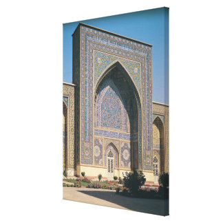 The Entrance Portal to the shrine, built in 1418 Canvas Print