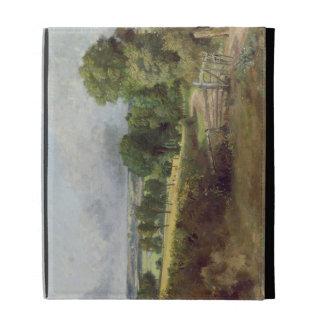 The Entrance to Fen Lane iPad Folio Case