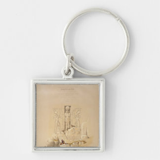 The Entrance to the Great Temple of Aboo Keychain
