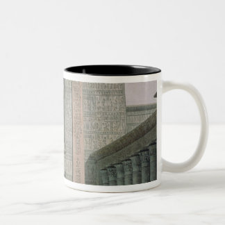 The Entrance to the Temple, Act I scene iii Two-Tone Coffee Mug