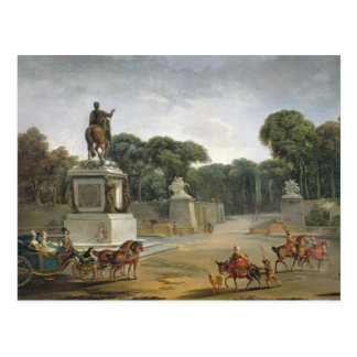 The Entrance to the Tuileries from the Place Postcard