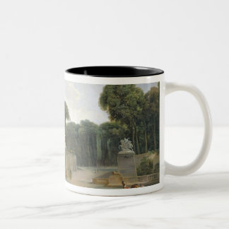 The Entrance to the Tuileries from the Place Two-Tone Coffee Mug