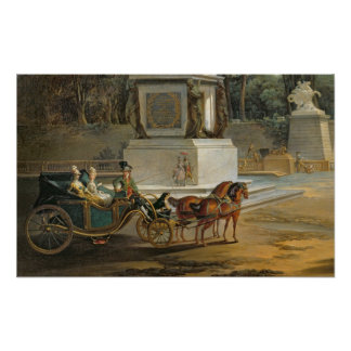 The Entrance to the Tuileries Poster