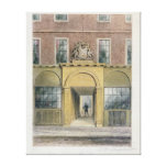 The Entrance to Weavers Hall, 1854 Canvas Print