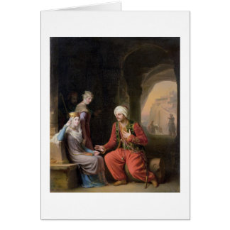The Entreaty, 1822 (oil on canvas) Greeting Card