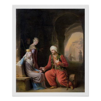 The Entreaty, 1822 (oil on canvas) Poster