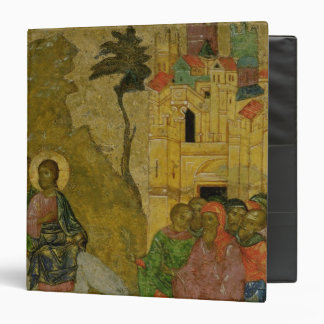 The Entry into Jerusalem, Russian icon Binder