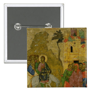 The Entry into Jerusalem, Russian icon Button