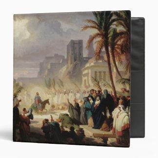 The Entry of Christ into Jerusalem Binder