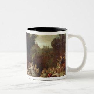 The Entry of Christ into Jerusalem, c.1720 Two-Tone Coffee Mug