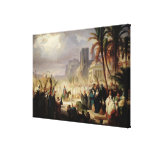 The Entry of Christ into Jerusalem Gallery Wrap Canvas