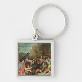 The Entry of Christ into Jerusalem Keychains