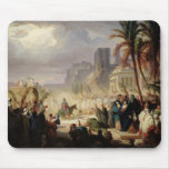 The Entry of Christ into Jerusalem Mouse Pad