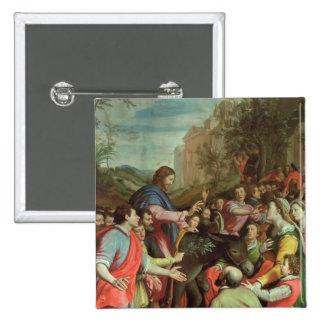 The Entry of Christ into Jerusalem Pinback Button