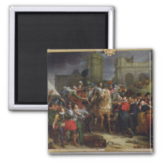The Entry of Henri IV  into Paris Magnet