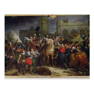 The Entry of Henri IV  into Paris Post Cards