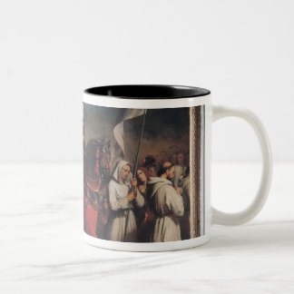 The Entry of Joan of Arc  into Orleans Two-Tone Coffee Mug