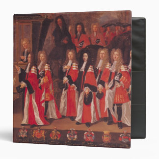 The Entry of Louis of France 3 Ring Binder