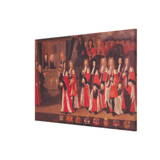 The Entry of Louis of France Canvas Print