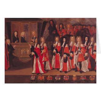 The Entry of Louis of France Card