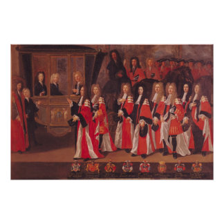 The Entry of Louis of France Poster