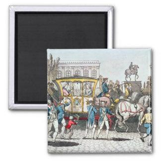 The Entry of Louis XVI  into Paris Magnet