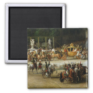 The Entry of Napoleon  and Marie-Louise Magnet