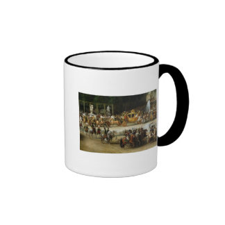 The Entry of Napoleon  and Marie-Louise Ringer Mug