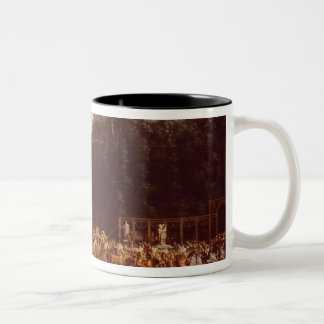 The Entry of Napoleon and Marie-Louise Two-Tone Coffee Mug