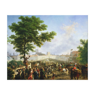 The Entry of Napoleon Bonaparte Canvas Print