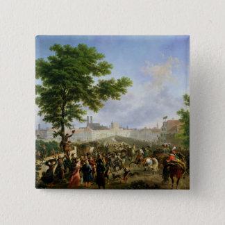 The Entry of Napoleon Bonaparte Pinback Button