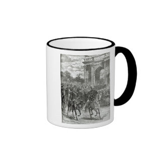 The entry of Napoleon III and Victor Emmanuel Mug
