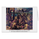 The Entry Of The Crusaders Into Constantinople Greeting Card