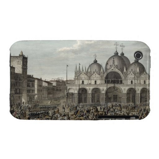 The entry of the French into Venice and the theft iPhone 3 Case-Mate Cases