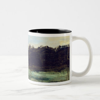 The Environs of Etampes Two-Tone Coffee Mug