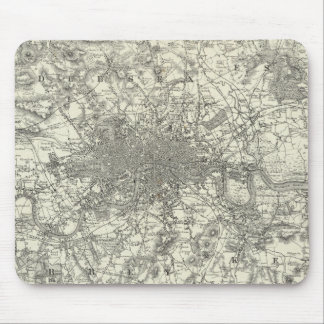 The Environs Of London Mouse Pad