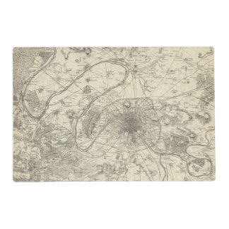 The Environs Of Paris Placemat