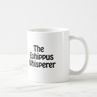 the eohippus whisperer coffee mug
